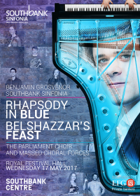 Belshazzar's Feast at the Royal Festival Hall, London